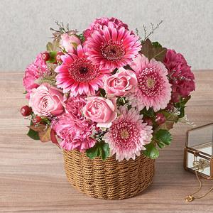 アレンジメント「10月の旬の花 ラフィット」の商品画像