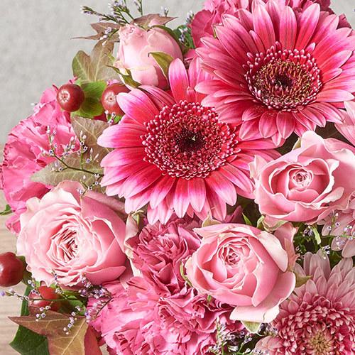 アレンジメント「10月の旬の花 ラフィット」