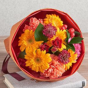 花束「10月の旬の花 ムートン」の商品画像