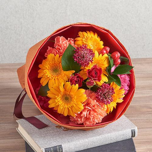 花束「10月の旬の花 ムートン」