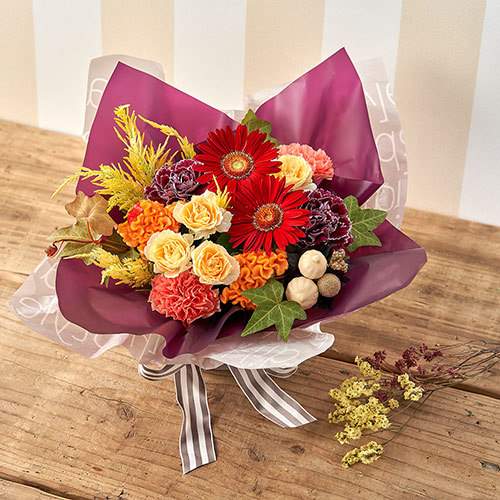 アレンジメント「10月に贈る花言葉」