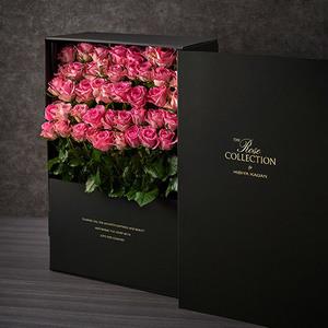 デザイナーズボックスフラワー「ローザ」(50本)の商品画像
