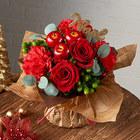 クリスマス そのまま飾れるブーケ「ノエル」