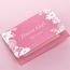 無地カード(ピンク)