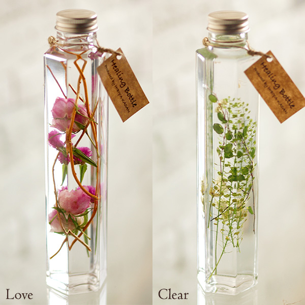 Healing Bottle Love/Clear