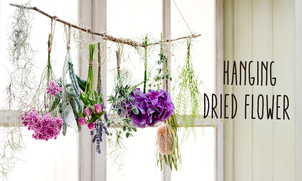 HANGING DRIED FLOWER