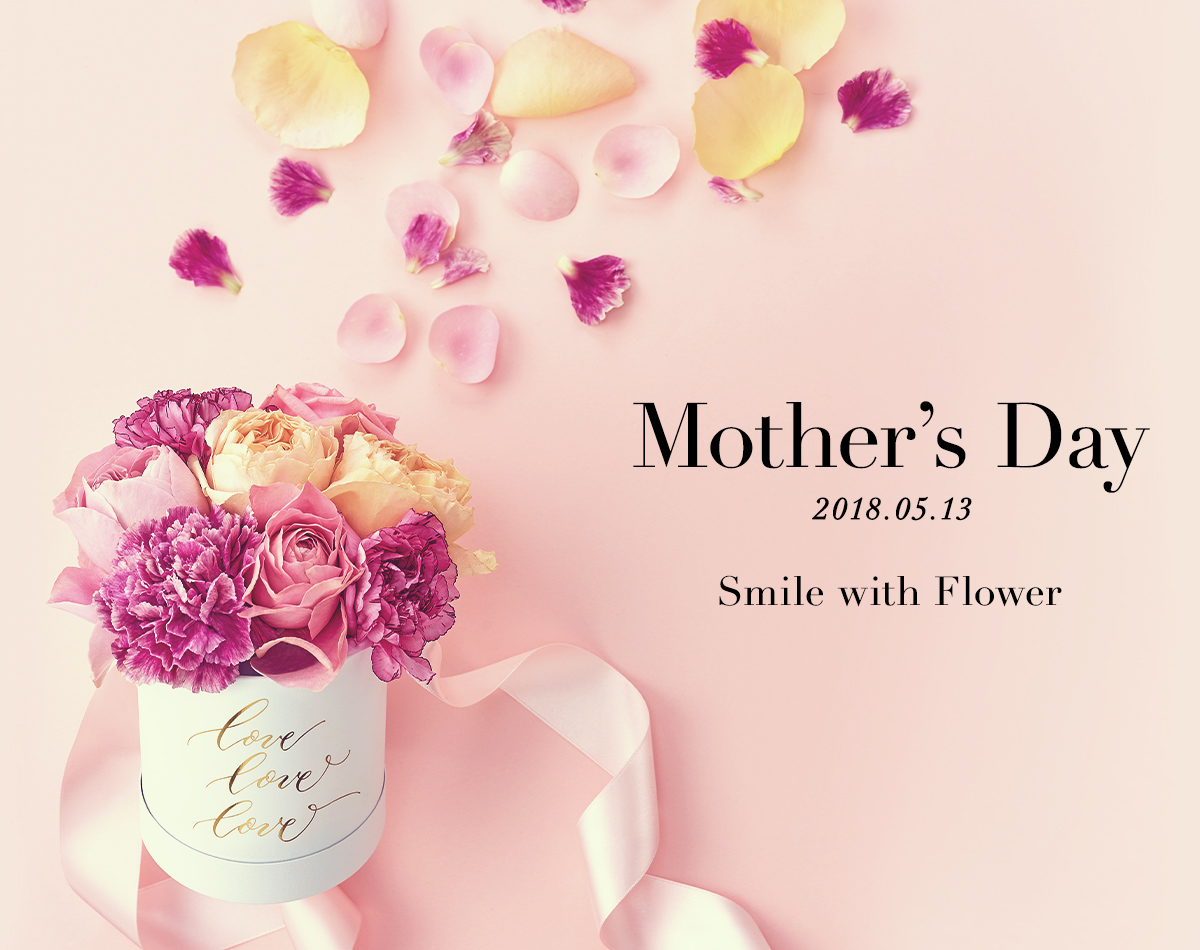Mother's Day 2018.5.13 Smail with Flower
